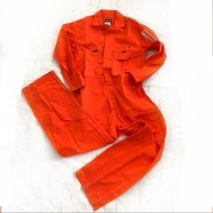 KEY Men's 7oz Deluxe Coverall Relaxed Fit 38S